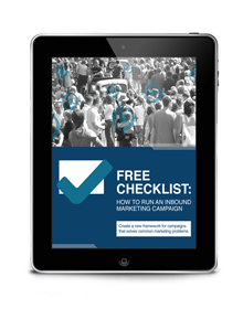 Inbound Marketing Checklist eBook