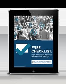 Inbound Marketing Checklist eBook